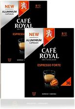 **FREE POST** Café Royal Espresso Forte 72 Coffee Pods 8/10 NESPRESSO compatible