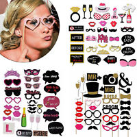 30pcs Hen Party Props Photo Booth Bridal Shower Engagement Wedding Funny Selfie
