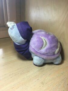 Vintage Tonka Keypers Purple Plush Nighttime Sleepy Turtle 1985