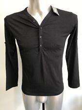 Jeansian Fashion Mens Longsleeve T Shirt Size M
