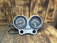 1990 Harley FXRP gauges mount lights fuel tach speedo FXR Police