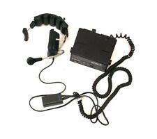 Motorola SyntorX FM Two-Way Radio Control Head with Headset