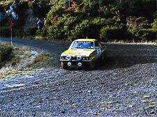 VAUXHALL MAGNUM #49 LOMBARD RAC RALLY 1975 PHOTOGRAPH GEORGE HILL PHIL SHORT
