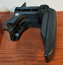 BMW E46 330i 330Xi 3-Series OEM Black Leather Center Console Arm Rest Assembly