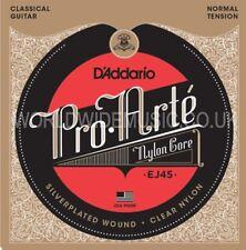 D'addario Ej45 Pro Arte Guitarra Clásica Cuerdas Normal