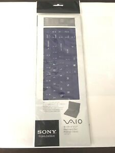 New Genuine Sony VAIO Keyboard Skin Purple VGP-KBV3 Fast Shipping!