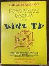 Margaret Brandman' Favourite Songs From Kidz To
