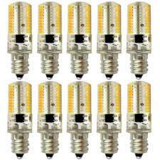 10pcs E12 Candelabra C7 LED Light Bulb Lamp 80-3014 SMD Crystal Warm White 120V