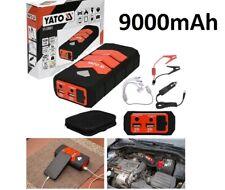 KFZ Handy Power Bank YATO 12V Auto Starthilfe Booster Batterieladegerät 9000mAh