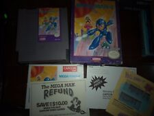 MEGA MAN 4 FOR NINTENDO NES COMPLETE IN BOX WITH INSTRUCTIONS AND PAMPHLETS