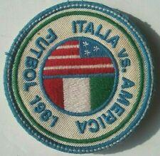 Italia vs. America Futbol 1981 Football Soccer Vintage Original 3 Inch Patch