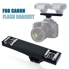 Lusana Studio TTL Flash Hot Shoe Bracket for CANON DSLR Cameras and Flashguns