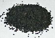 0,25 KG SCHUNGIT (SHUNGIT)-GRANULAT-MINI-CHIPS-Aufladesteine (GP: 19,80 €/kg)