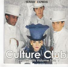(GH678) Sunday Express - Culture Club Greatest Hits Vol 2 Live - 2007 CD