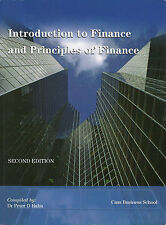 Introduction to Finance and Principles of Finance Dr PETER D HAHN Second Edition