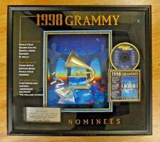 Super Rare 1998 Grammy Music Award Presented To Jim Caparro Sales Award