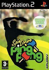Spin Drive Ping Pong PS2 (Playstation 2) - Envío Gratis-Vendedor de Reino Unido