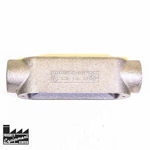 "Crouse-Hinds C-39 1"" Aluminum Conduit Body Type C"