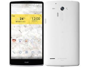 LG LGL24 ISAI FL 4.4 ANDROID 4K/2K SMARTPHONE NEW UNLOCKED JAPAN VER LG G3 WHITE