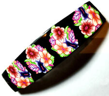Barrette Polymer Clay Artisan HandMade hair barrette made in France French clip