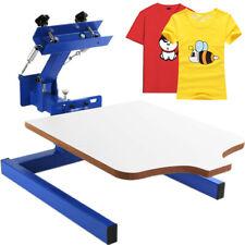 1 Color 1 Station Silk Screen Printing Machine Press Printer T Shirt Printing