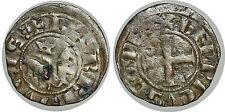 LORRAINE - COMTÉ DE BAR - HENRI II Denier parisis Bar-le-Duc 1220-1240
