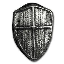 2 oz Silver Shield - Mk Barz & Bullion - SKU #152321