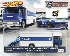 Team Transport Flyer Corvette Stingray 1:64 Hot wheels Car culture 24