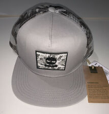Timberland Grey Camo SnapBack- New With Tags