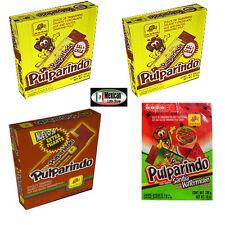 4x Pulparindo de la Rosa Hot, Très Piquants, Pastèque Tamarin Fruit Pulpe 80-pcs