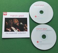 Marvin Gaye The Essential Collection inc Sexual Healing & Joy + CD x 2