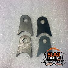Shock Tab 4-pack / Shock Mount Tube Mounts Weld On Rock Buggy Sand Rail