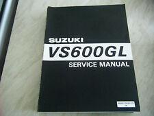 SUZUKI VS600GL GENUINE SERVICE MANUAL NOS 99500-35050-01E