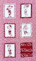 Loralie Designs Handmade Sewn Lap Quilt Blanket Fabric Panel Ladies *FREE SHIP!*