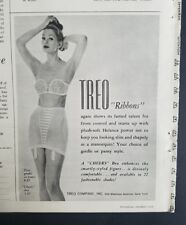 4580580bd4 1959 women s Treo ribbons girdle garters cheers strapless bra vintage ad