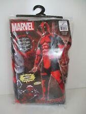 Deadpool Halloween Costume Muscle Chest Adult Jumpsuit XL Marvel Rubie's E