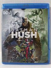 """BATMAN HUSH"" UNIVERSE DC  2019 BLURAY+DVD NO DIGITAL - Free Shipping"