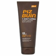 Piz Buin 1 Day Long Sun Lotion SPF 15 - 2 X 200ml