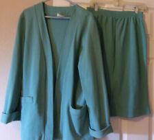 New listing Weekenders 2 Piece Jacket & Short Skirt- Green- Size L
