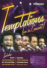 TEMPTATIONS - LIVE IN CONCERT!  DVD NEW!