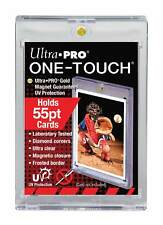 10 Ultra Pro 55pt UV ONE TOUCH MAGNETIC Card Holders for 55 pt Thickness