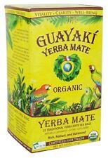 Guayaki - Organic Yerba Mate Traditional - 25 Tea Bags
