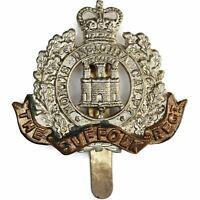 Queens Crown Suffolk Regiment Cap Badge - GE52