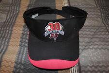 Tampa Bay Buckaneers 30th Anniversary Black & Red Visor