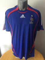 FRANCE 2006/07 Football Shirt Soccer Jersey Home Trikot Camiseta Maillot FRENCH