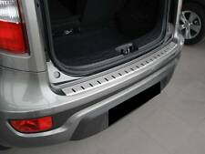 Rear Bumper Protector Stainless Steel Scuff Plate fit Kia Soul I 2009-2012