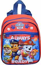 """Nickelodeon Paw Patrol Boy's 10"""" Mini Backpack With 3D Artworks"""