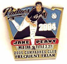 San Diego PADRES Jake Peavy 2004 Baseball Pinback Hat/Lapel Pin Frequent Friar