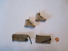 DAM TOYS 1/6 Modern British Royal Marines Commando Boots & Puttes 78023