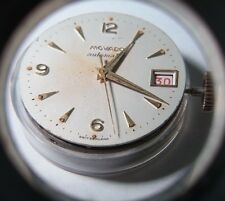 Movado 224 A movement, date, 17 Jewel needs cleaning, rare, Vintage, Collector's